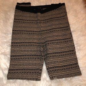 FOREVER21 design/ color nude & black leggings!